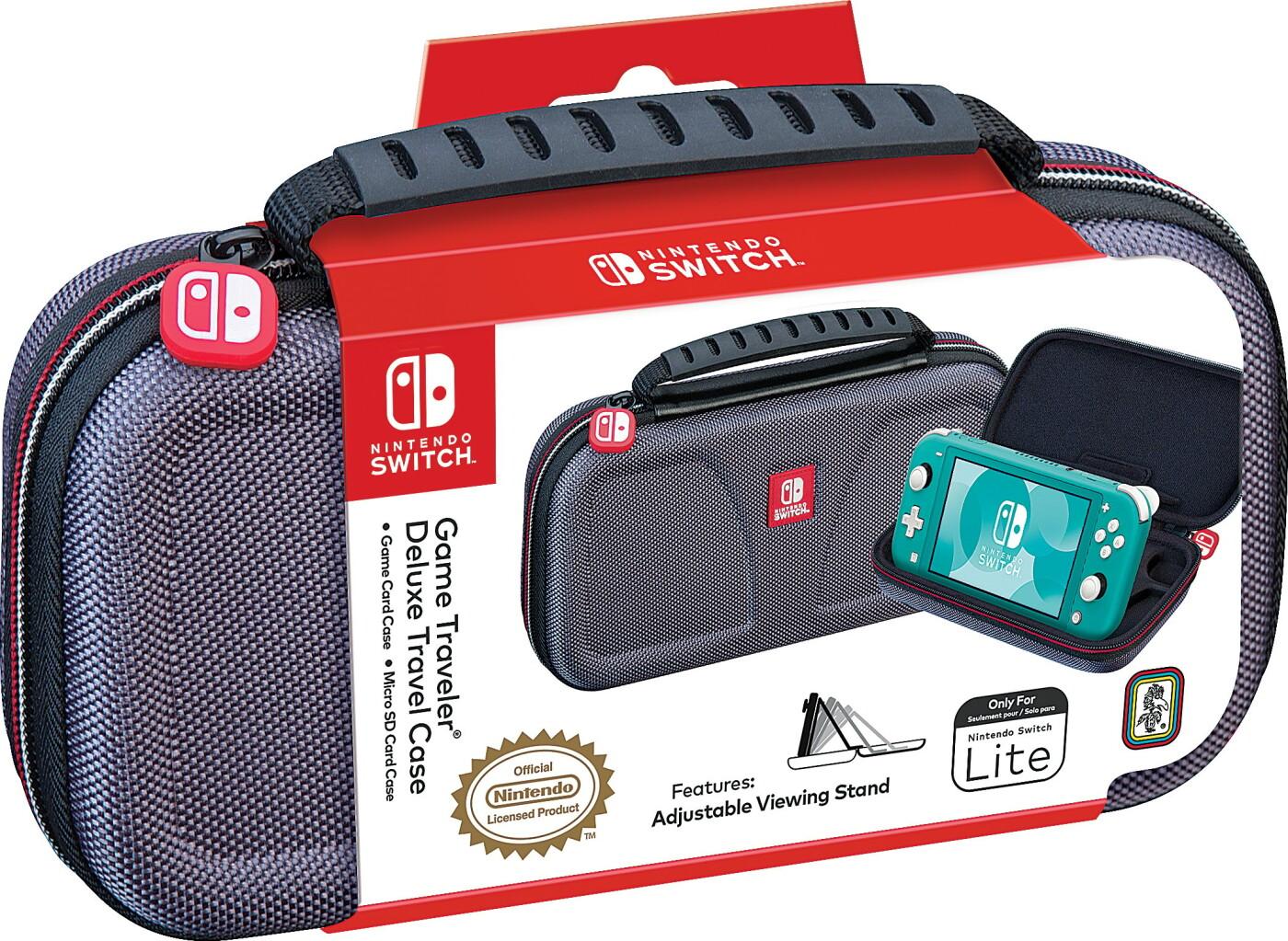 Image of   Nintendo Switch Lite - Deluxe Travel Case - Etui Og Skærmbeskytter