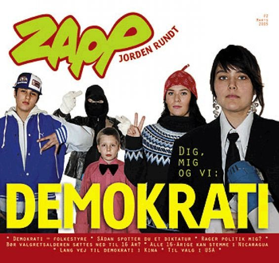 Image of   Demokrati: Dig, Mig Og Vi - Zapp Nr. 2/2005 - Diverse - Bog