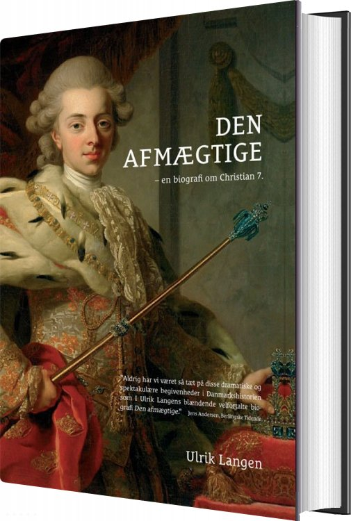 Den Afmægtige - Ulrik Lang Langen - Bog