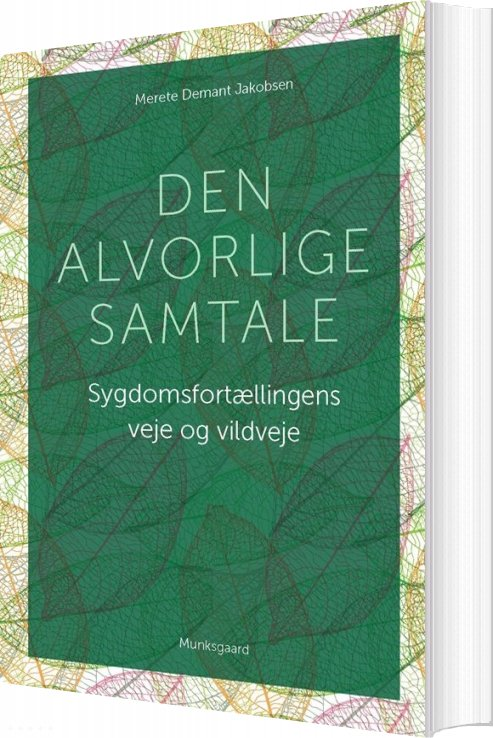 Image of   Den Alvorlige Samtale - Merete Demant Jakobsen - Bog