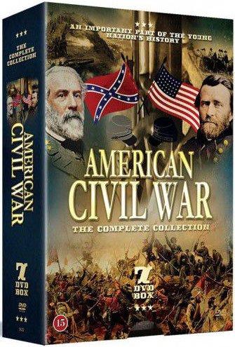 Billede af American Civil War The Complete Collection - DVD - Film
