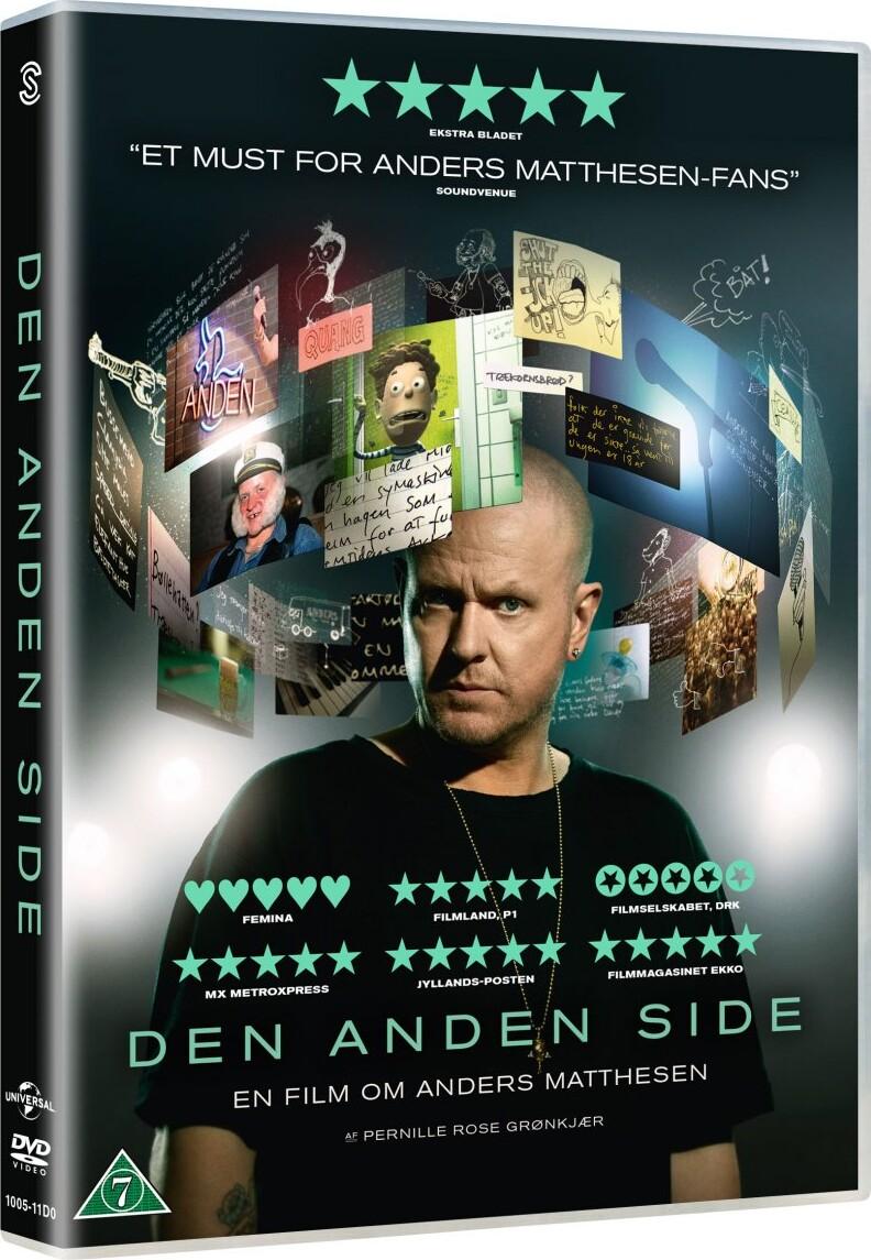 Image of   Den Anden Side - Anders Matthesen Dokumentar - DVD - Film