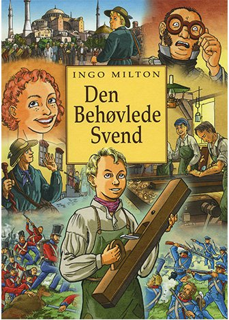 Den Behøvlede Svend - Ingo Milton - Tegneserie