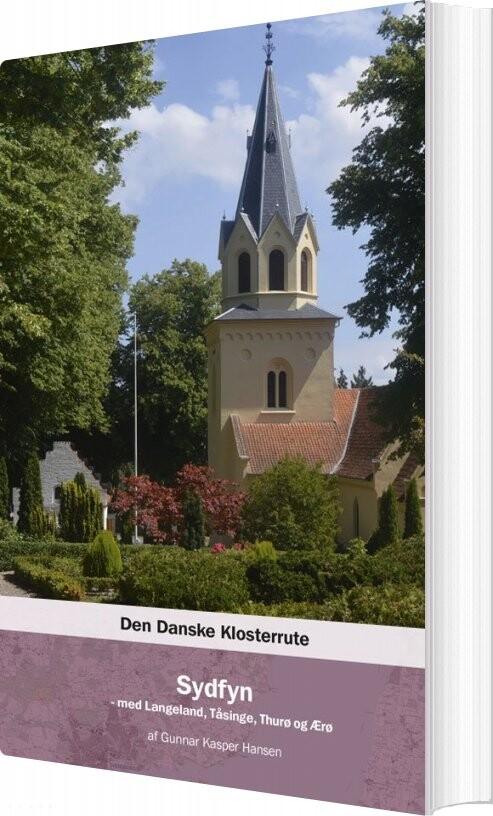 Image of   Den Danske Klosterrute - Gunnar Kasper Hansen - Bog
