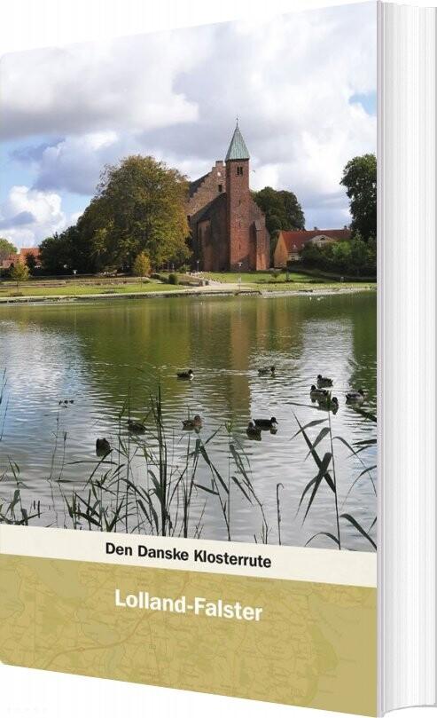 Image of   Den Danske Klosterrute - Jens Kristian Krarup - Bog