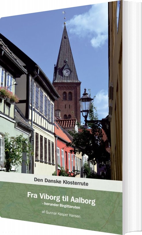 Image of   Den Danske Klosterrute - Gunnar Kasper Handen - Bog