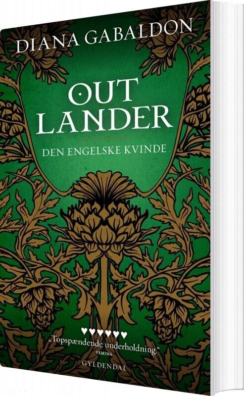 Image of   Den Engelske Kvinde - Del 1 Og 2 - Diana Gabaldon - Bog