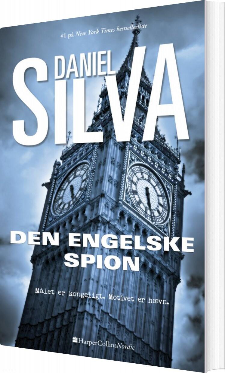 Image of   Den Engelske Spion - Daniel Silva - Bog