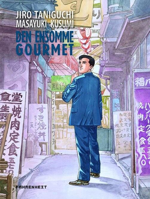 Image of   Den Ensomme Gourmet - Jiro Taniguchi - Tegneserie