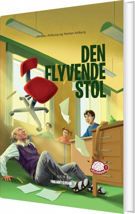 Den Flyvende Stol - Kirsten Ahlburg - Bog
