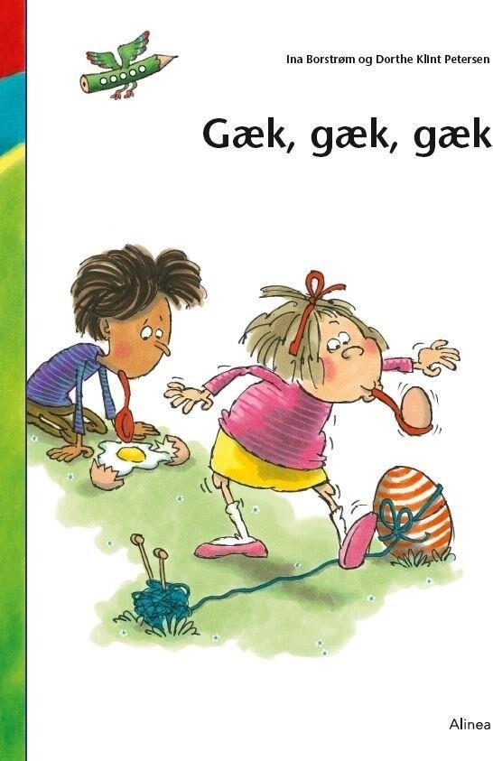 Den Første Læsning 0. Kl. Lydret Fri Læsning, Gæk, Gæk, Gæk - Ina Borstrøm - Bog