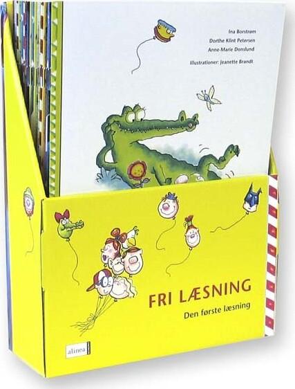 Image of   Den Første Læsning 1.kl. Fri Læsning, Sampak Med 21 Bøger - Ina Borstrøm - Bog