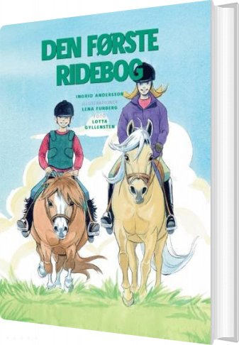 Image of   Den Første Ridebog - Ingrid Andersson - Bog