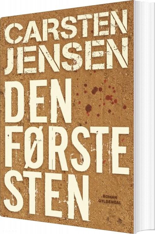 Den Første Sten - Carsten Jensen - Bog