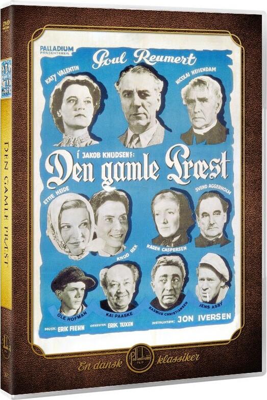 Image of   Den Gamle Præst - DVD - Film