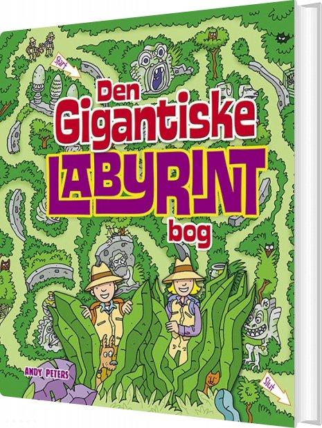 Den Gigantiske Labyrintbog - Andy Peters - Bog