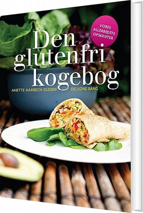 Den Glutenfri Kogebog - Anette Harbech Olesen - Bog