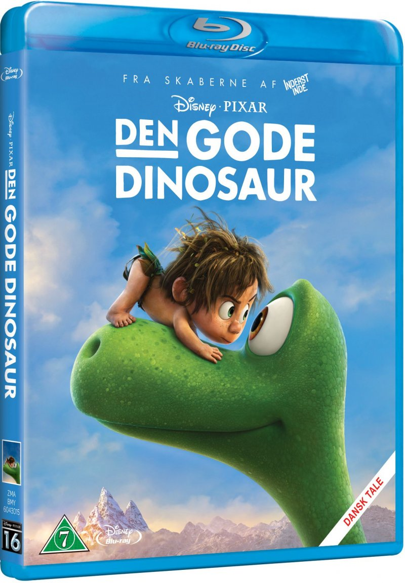 Image of   Den Gode Dinosaur / The Good Dinosaur - Disney Pixar - Blu-Ray