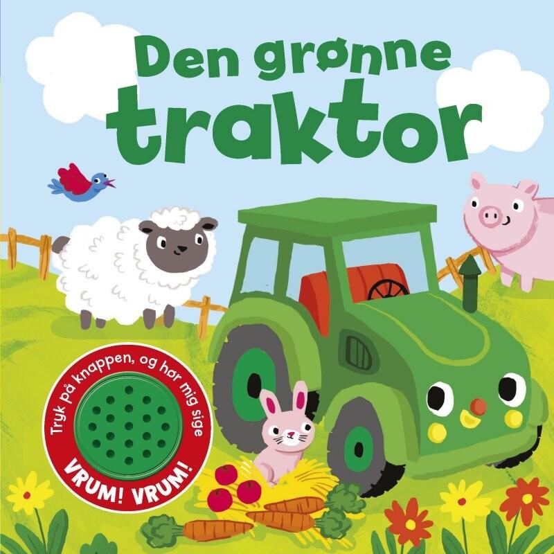 Image of   Den Grønne Traktor - Sjov Med Lyd - Nicholas Oliver - Bog