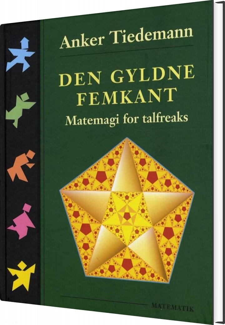 Image of   Den Gyldne Femkant - Anker Tiedemann - Bog