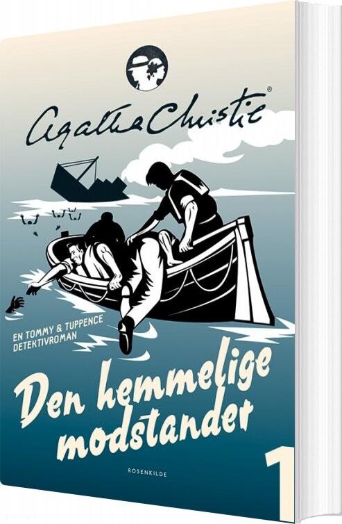 Den Hemmelige Modstander - Agatha Christie - Bog