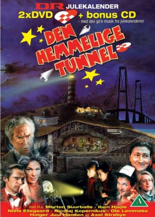 Den Hemmelige Tunnel - Dr Julekalender (dvd+cd) - DVD - Tv-serie