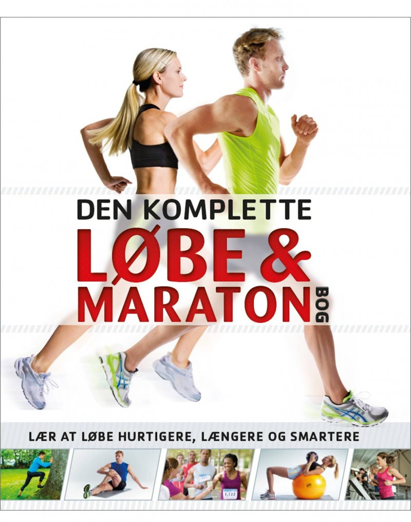 Image of   Den Komplette Løbe Og Maraton Bog - Glen Thurgood - Bog