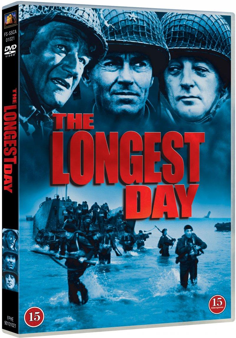 Image of   Den Længste Dag / The Longest Day - DVD - Film