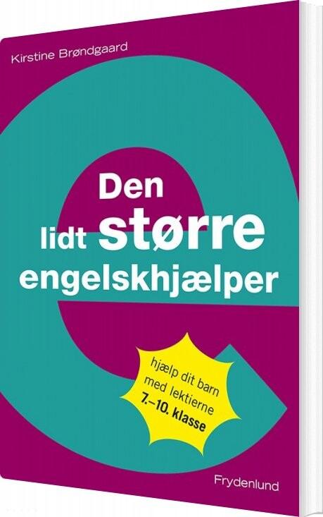 Image of   Den Lidt Større Engelskhjælper - Kirstine Brøndgaard - Bog