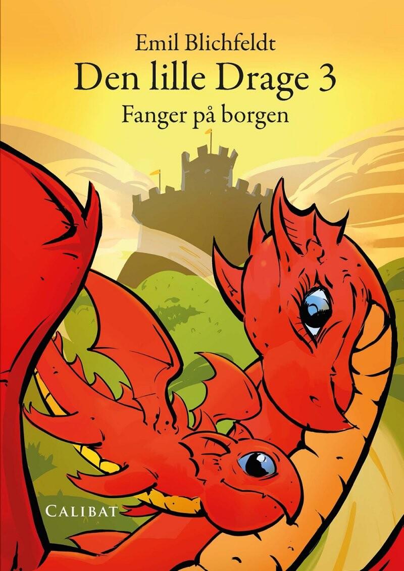 Den Lille Drage, Fanger På Borgen - Emil Blichfeldt - Bog