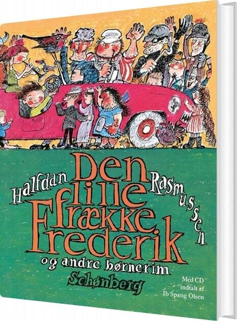 Image of   Den Lille Frække Frederik Med Cd - Halfdan Rasmussen - Bog