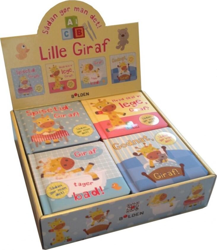 Image of   Den Lille Giraf 1-4 - Bog