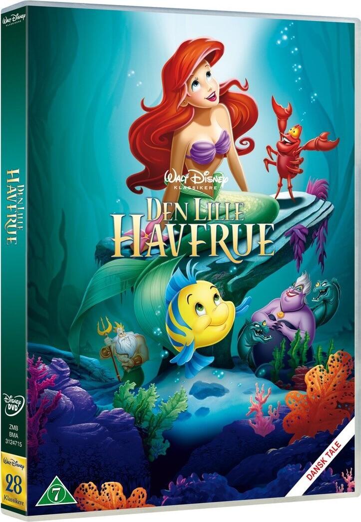 Image of   Den Lille Havfrue - Disney - DVD - Film