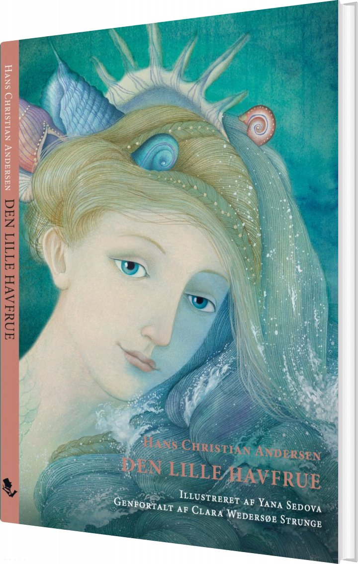 Den Lille Havfrue - Hans Christian Andersen - Bog