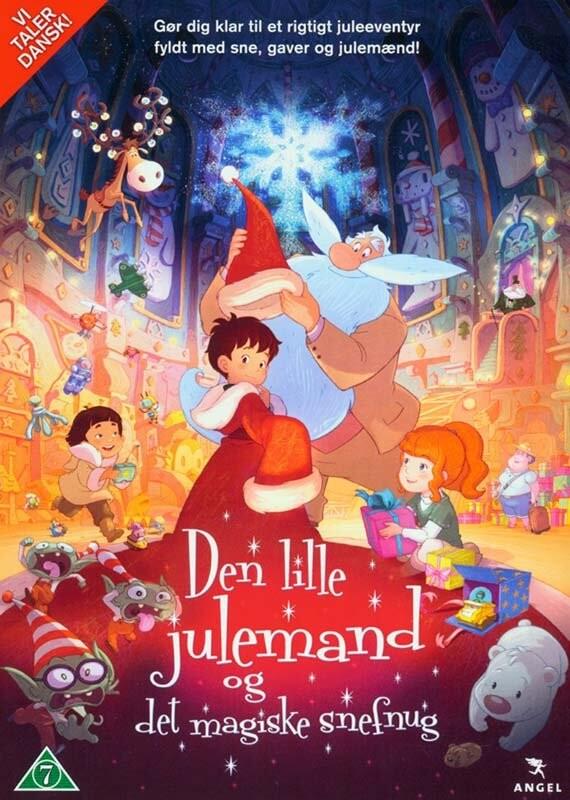 Image of   Den Lille Julemand Og Det Magiske Snefnug - DVD - Film