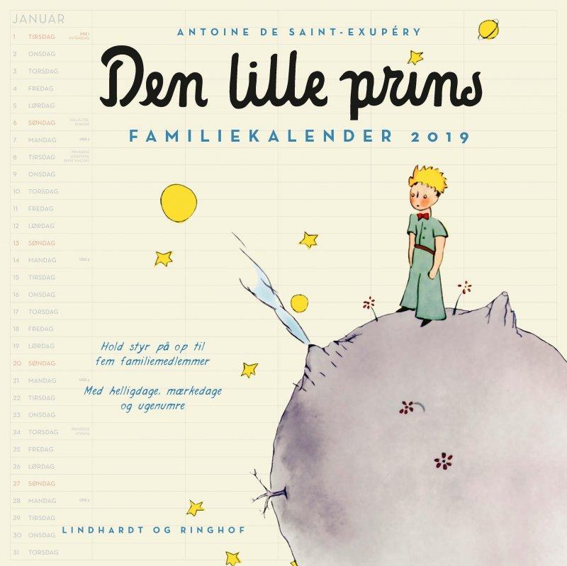 Image of   Den Lille Prins Familiekalender 2019