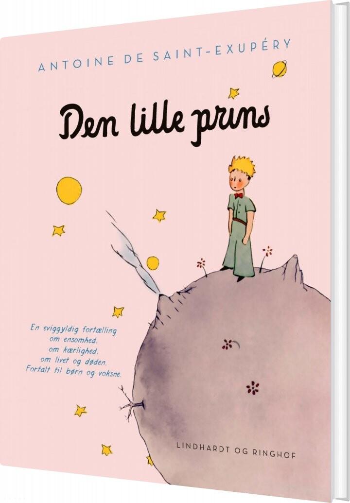 Den Lille Prins, Lyserød Hardback - Antoine De Saint-exupéry - Bog