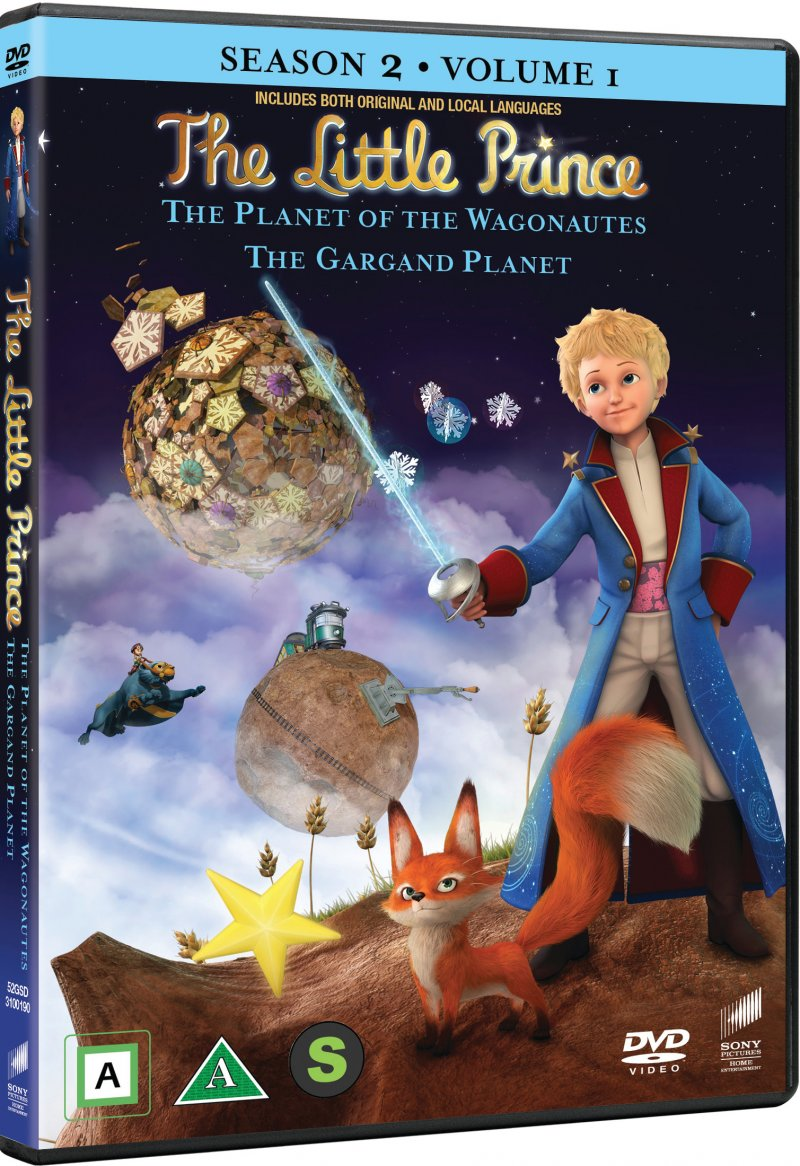 Image of   Den Lille Prins - Sæson 2 Vol. 1 - DVD - Film
