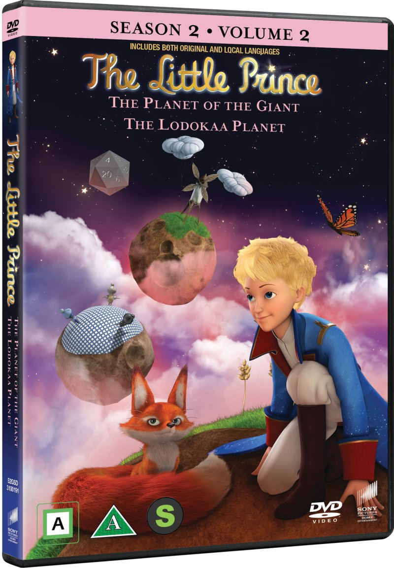 Image of   Den Lille Prins - Sæson 2 Vol. 2 - DVD - Film