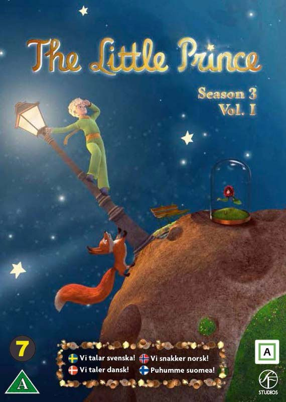 Image of   Den Lille Prins / The Little Prince - Sæson 3 Vol. 1 - DVD - Film