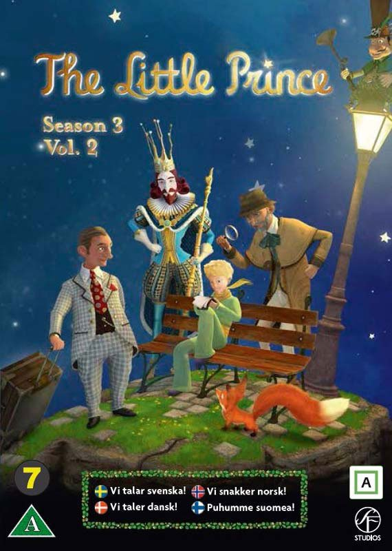 Image of   Den Lille Prins / The Little Prince - Sæson 3 Vol. 2 - DVD - Film