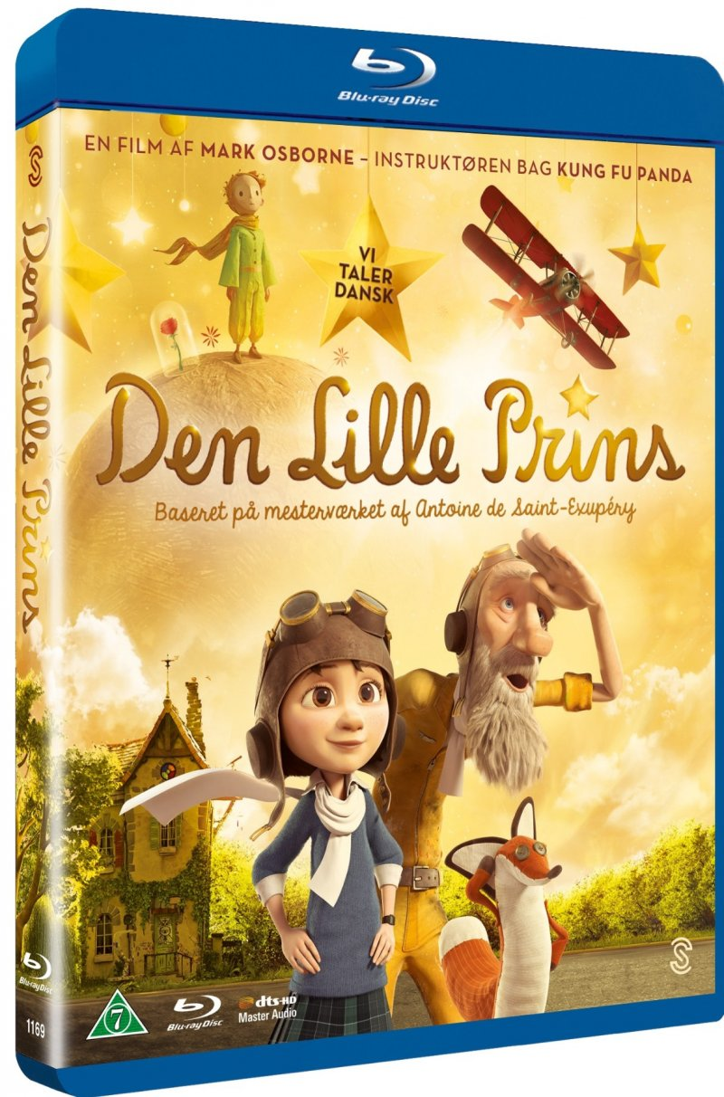 Image of   Den Lille Prins / The Little Prince - Blu-Ray