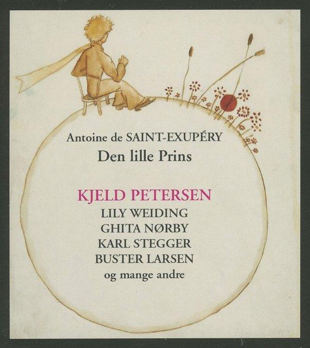 Den Lille Prins - Antoine De Saint-exupéry - Cd Lydbog