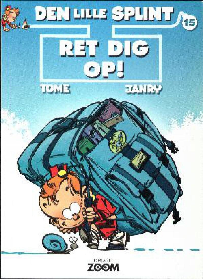Billede af Den Lille Splint 15: Ret Dig Op! - Janry - Tegneserie