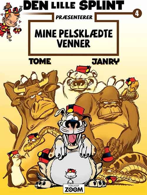 Billede af Den Lille Splint Præsenterer: Mine Pelsklædte Venner - Tome - Tegneserie