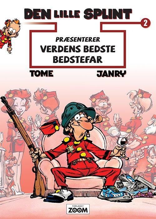 Image of   Den Lille Splint Præsenterer: Verdens Bedste Bedstefar - Janry - Tegneserie