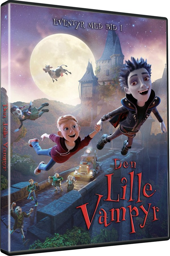 Image of   Den Lille Vampyr / The Little Vampire - DVD - Film
