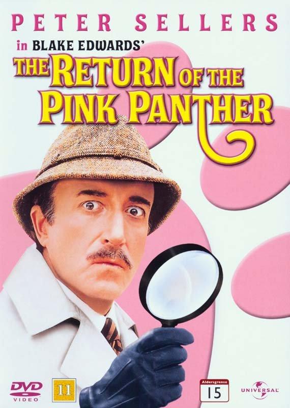 Den Lyserøde Panter Springer Igen / The Return Of The Pink Panther - DVD - Film