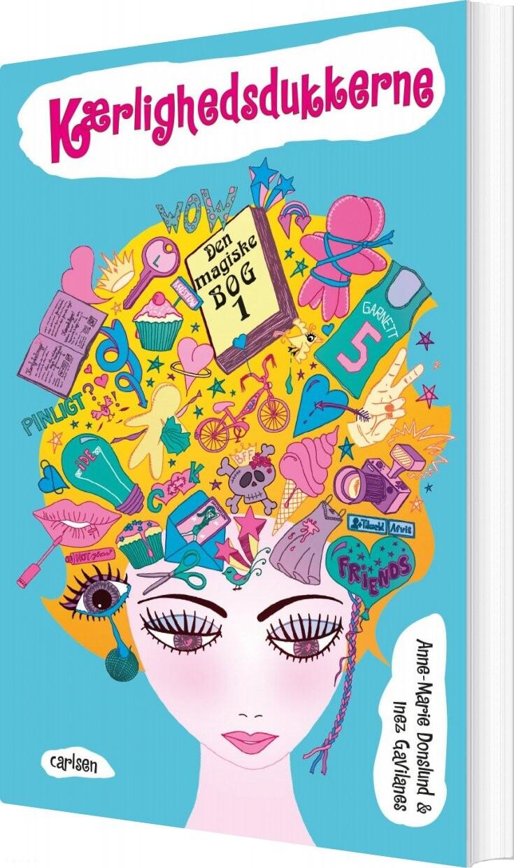 Image of   Den Magiske Bog 1: Kærlighedsdukkerne - Inez Gavilanes - Bog