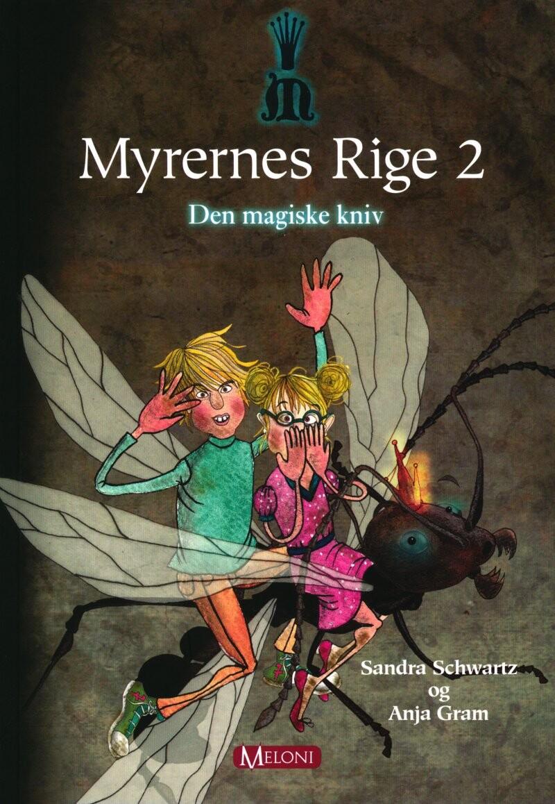 Den Magiske Kniv - Anja Gram - Bog